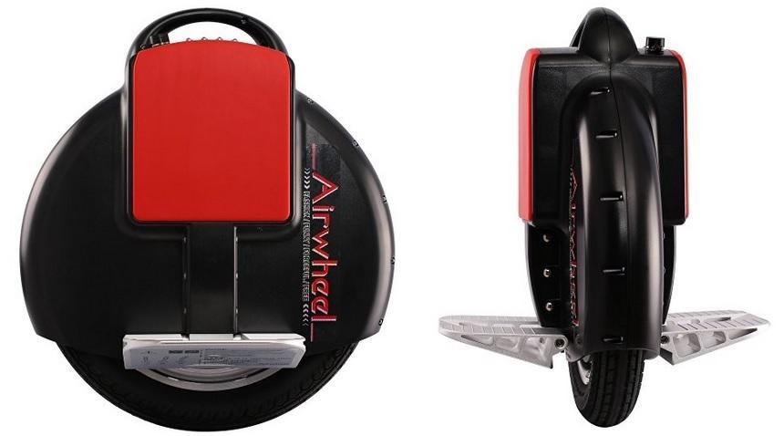 Airwheel X3 in Vorder- und Seitenansicht