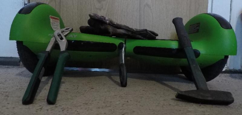 Robway W3 mit Werkzeug