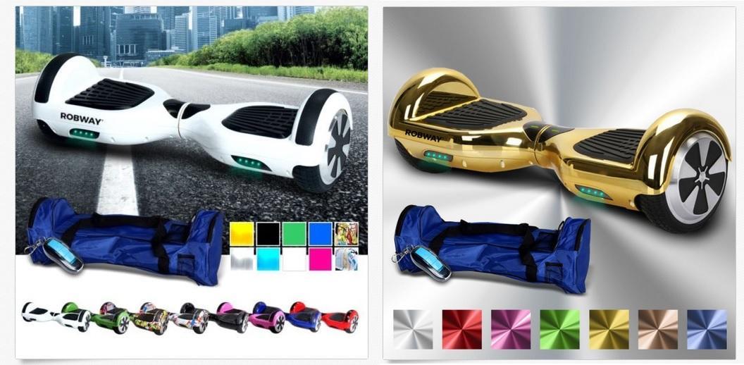 testsieger hoverboard robway w1 im test gute qualit t f r. Black Bedroom Furniture Sets. Home Design Ideas