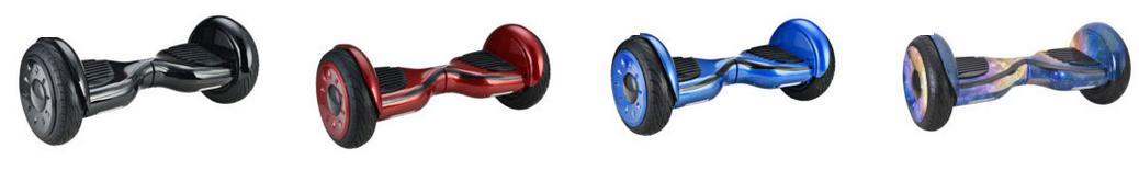 Schwarz, Rot, Blau und Regenbogenfarbene Modelle