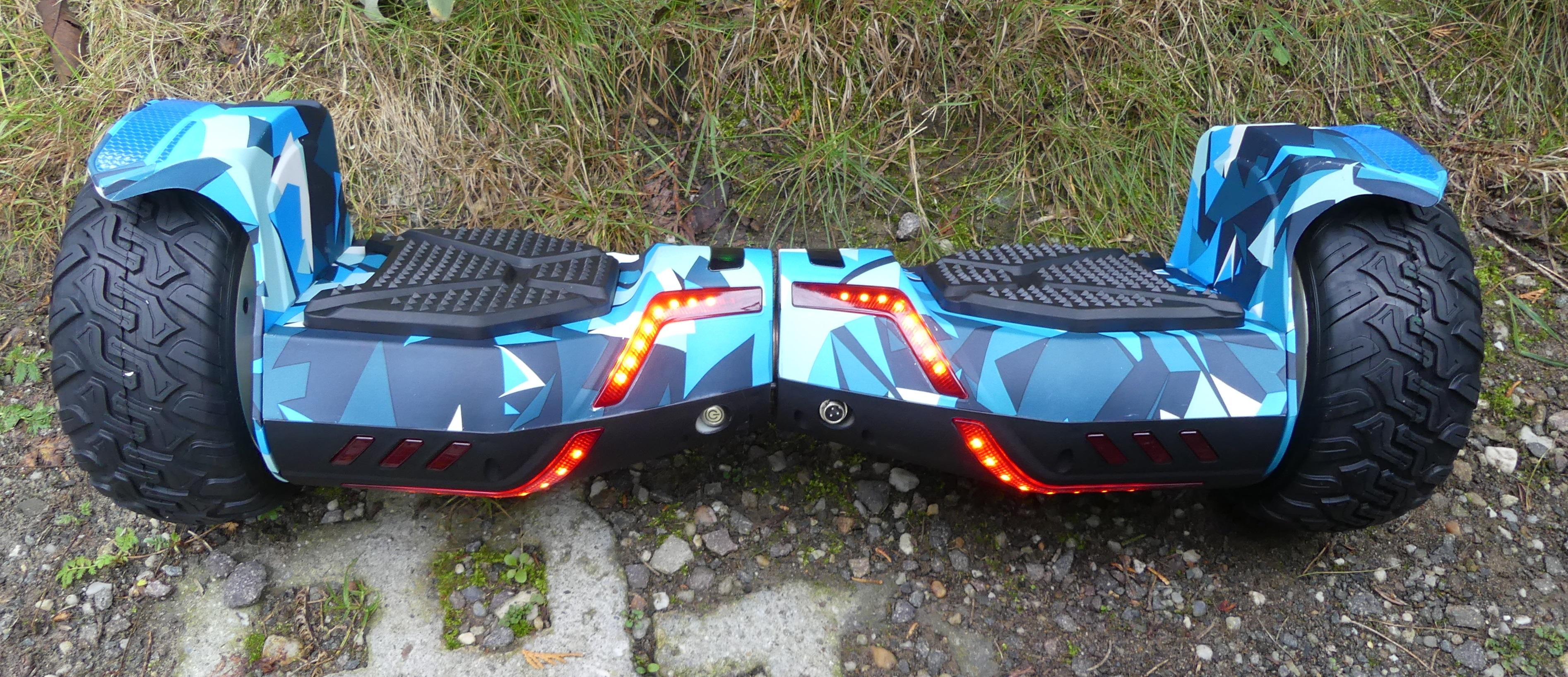 Hoverboard SUV blau