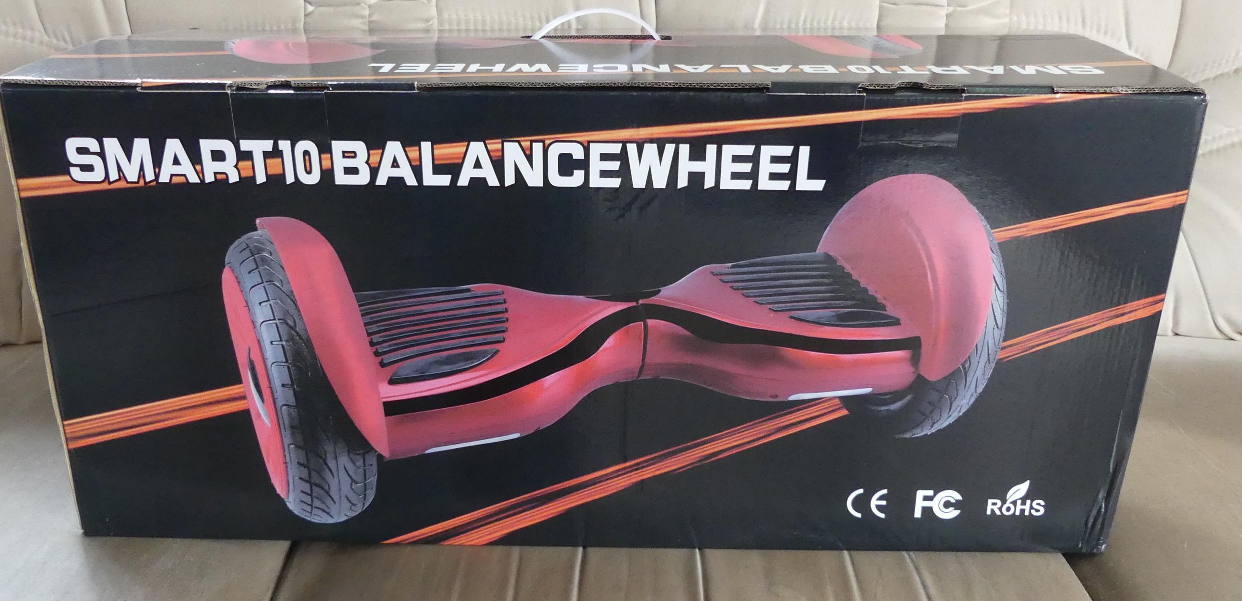 10 Zoll Hoverboard Smartwheel Verpackung