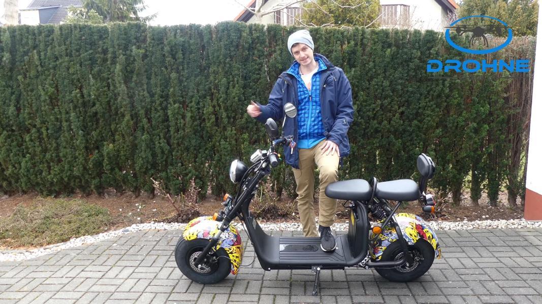 Elektrroller E Harley Aussehen
