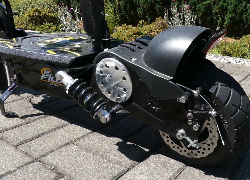 Elektrroller mit Straßenzulassung geringes Gewicht