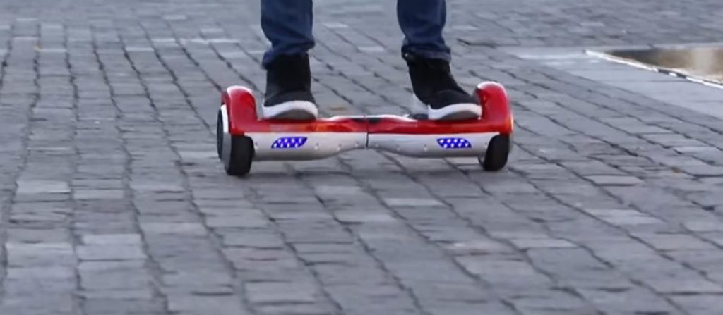 FIAT500 Hoverboard LED Beleuchtung