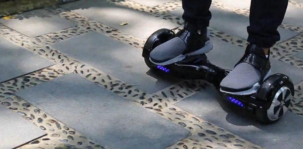 LED des Windgoo Hoverboards