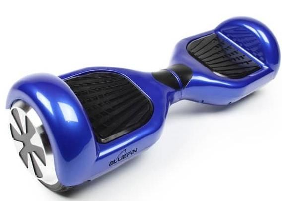 Trittflächen des Bluefin Hoverboards